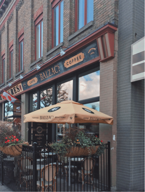 Restaurant Reviews -Balzac's Coffee Roasters