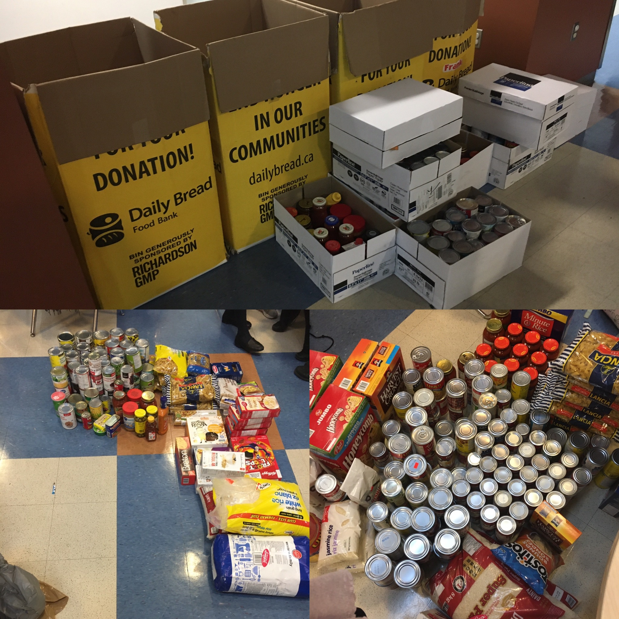 Hawthorn's Annual Food Drive